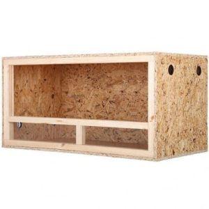 Terrarium aus Holz von Repiterra Seitliche Ansicht